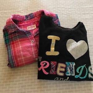 Other - Girls Bundle of 2 long sleeve