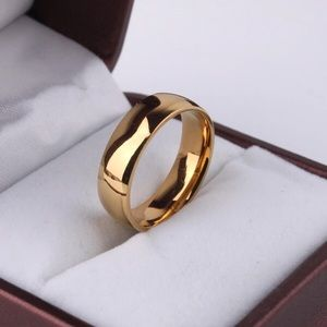 Other - Men's Never Fade Gold Stainless Steel Band