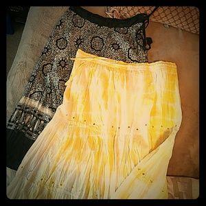 unity Dresses & Skirts - 2 boho skirts