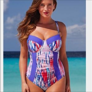 Swimsuitsforall Size 20 One Piece Bathing Suit