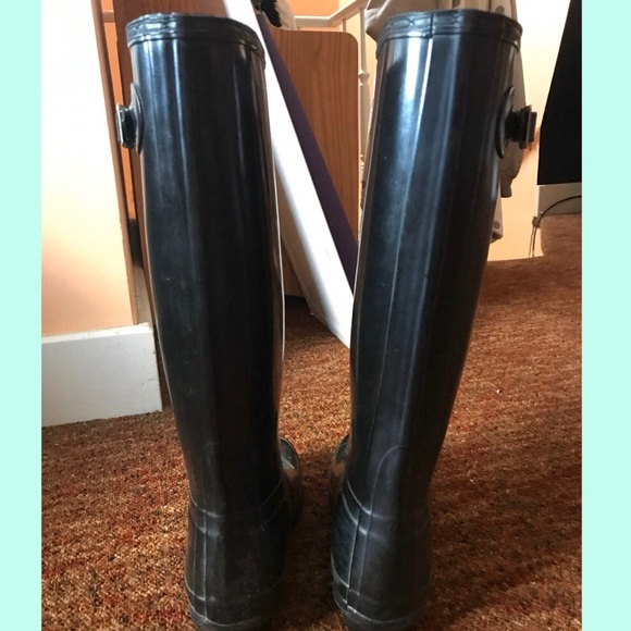 33% off Hunter Shoes - Hunter Women's Original Tall Gloss ...