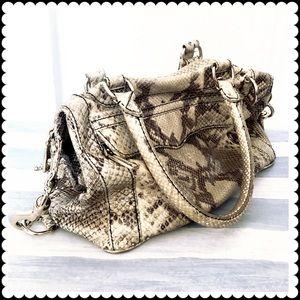 Rebecca Minkoff Handbags - Rebecca Minkoff MAB mini in python printed leather