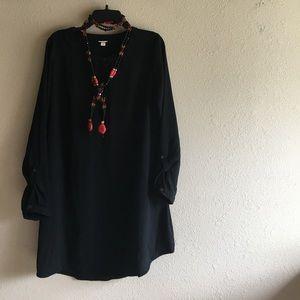Merona Dresses & Skirts - MERONA BLACK DRESS size LARGE