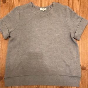 Madewell Sweaters - Maxwell Wool Blend cuffed Sleeve Sweater