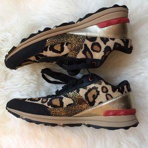 21d1a24198cc65 Sam Edelman Shoes - NWOT Sam Edelman Dax Leopard Trainer 8