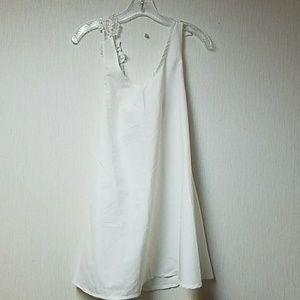 OASAP Dresses & Skirts - OASAP Basic white mini  dress NWT