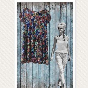 Emma & Michelle Floral Swing Dress