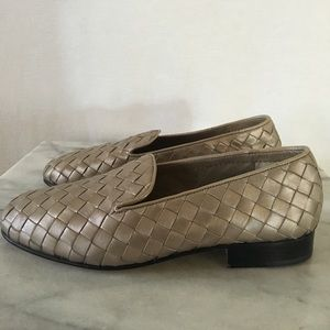 Cole Haan woven glove leather loafer
