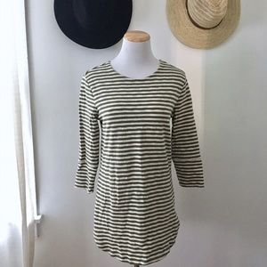 Striped Merona Tunic