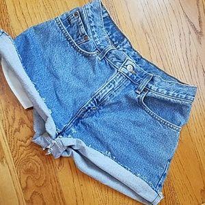 Levi's Pants - Vintage Levi High Waisted Shorts