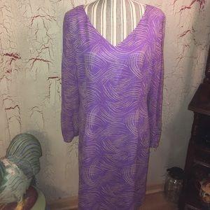 NWT silk Adrianna Papell dress