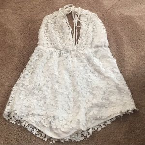 Missguided Other - Missguided lace romper