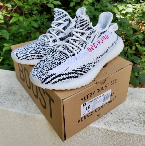 Adidas Yeezy Boost 350 v2 Zebra Size 10 f7c9253a6