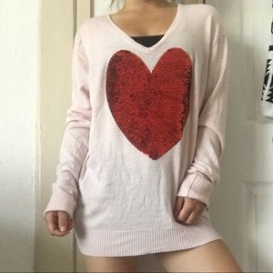 WildFox Sparkle ❤️ Sweater