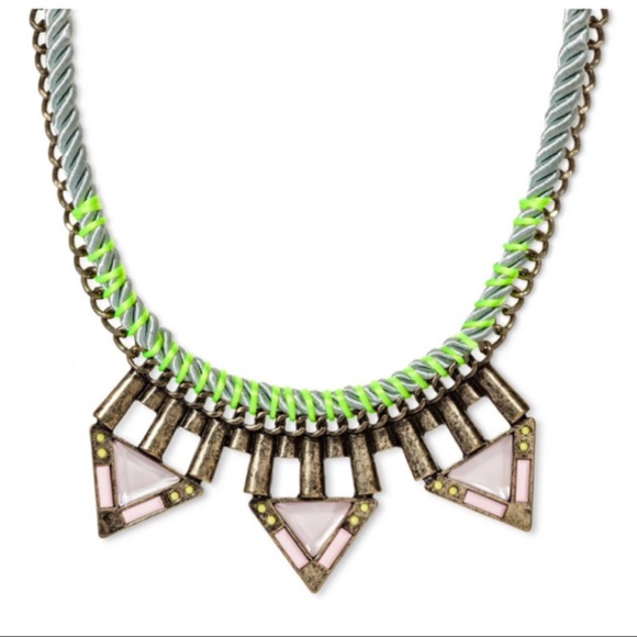 Baublebar Jewelry - New! Sugarfix Baublebar Geometric Neon Necklace
