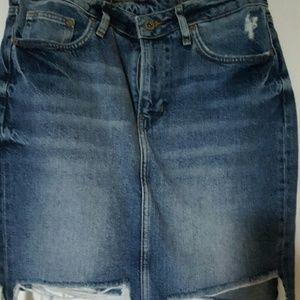 H&M Dresses & Skirts - H&M Jean mini skirt.