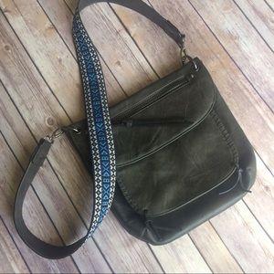 Steve Madden Handbags - Steve Madden Bchange Crossbody W. Guitar Strap