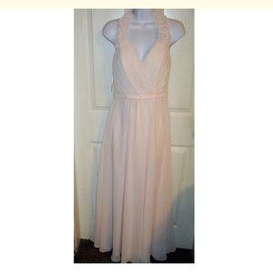 Allure Bridals Dresses & Skirts - ALLURE Bridals Bridesmaids Blush Halter Gown SZ 10