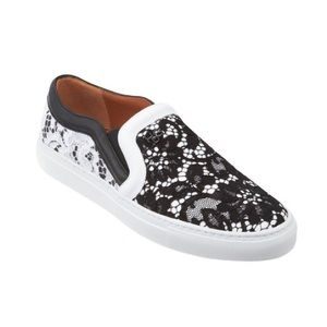 Givenchy lace slip on sneakers