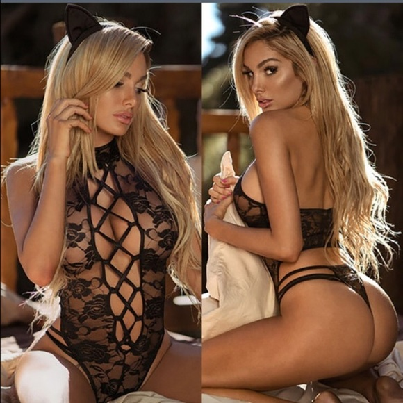 Other - 🐱Naughty Kitty Cat Lingerie Set🐱