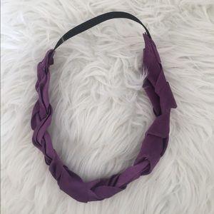 Accessories - Purple braided headband