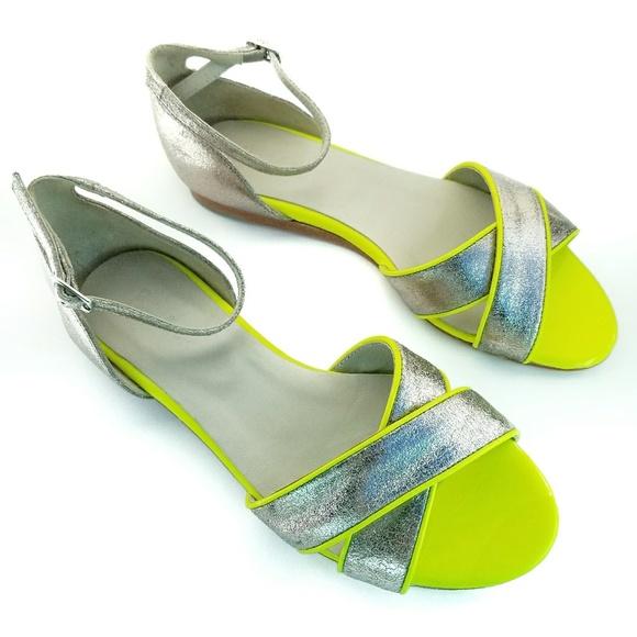 a50278e1ee15 Boden Shoes - Boden  Sorrento  Neon and Metallic Sandals