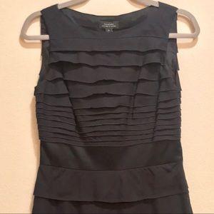 TAHARI Navy Princeton Dress