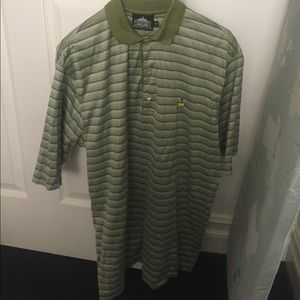 Other - The Masters Green Golf Polo size Medium