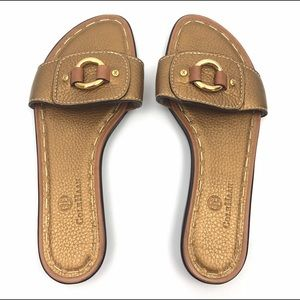 Cole Haan Sandals 8 Flats Nike Air Slippers Open