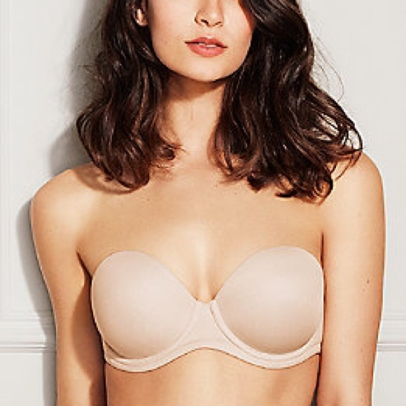 Long line bras fit around your complete torso; the Flattering me bra is a long line strapless bra, therefore we need to consider your waist measurement for the correct fit of this bra. 1- .