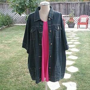 Liz & me Jackets & Blazers - Liz & Me Jean jacket 1X plus Size