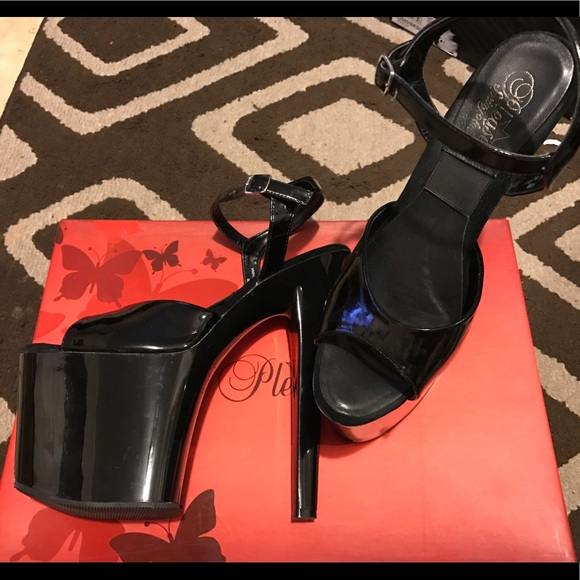 e7d8e8be64 Pleaser Shoes | Fits Like Sz 10 Sexy Stripper 8 In Heels | Poshmark