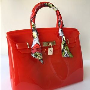 Handbags - Beankins Handbag jelly Summer Beach Bag