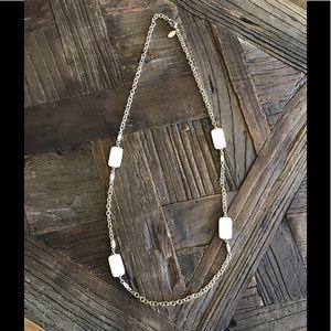 Ann Taylor Station Necklace