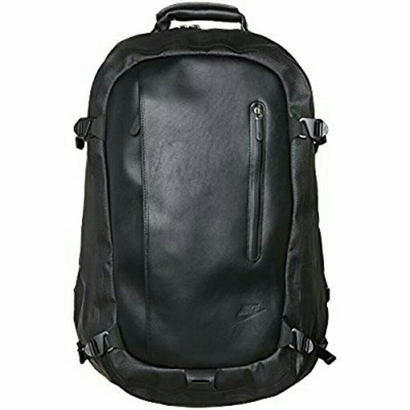 Nike Bags   Nsw Cheyenne 2000 Eugene Leather Backpack   Poshmark b77ba45511