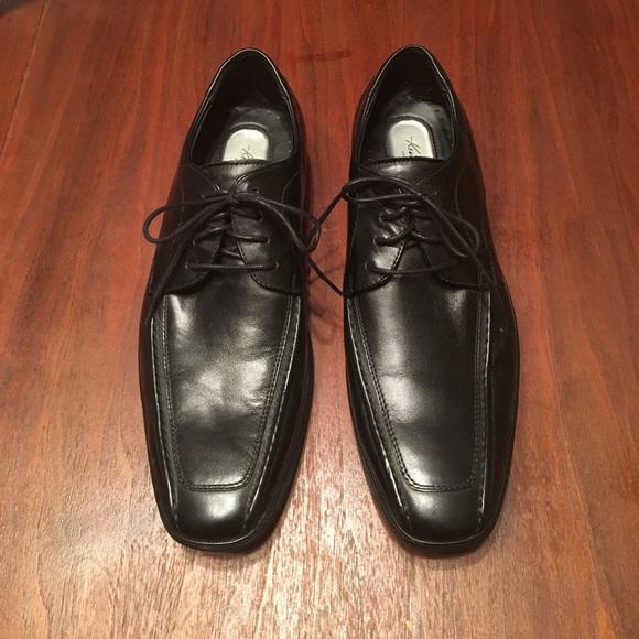 Kenneth Cole Shoes Black Oxford Dress Poshmark