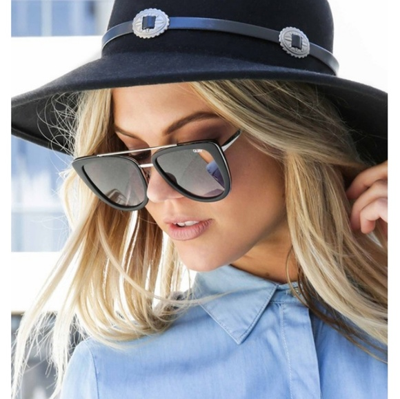 d9585c00c3659 Quay Australia sunglasses French kiss black nwt