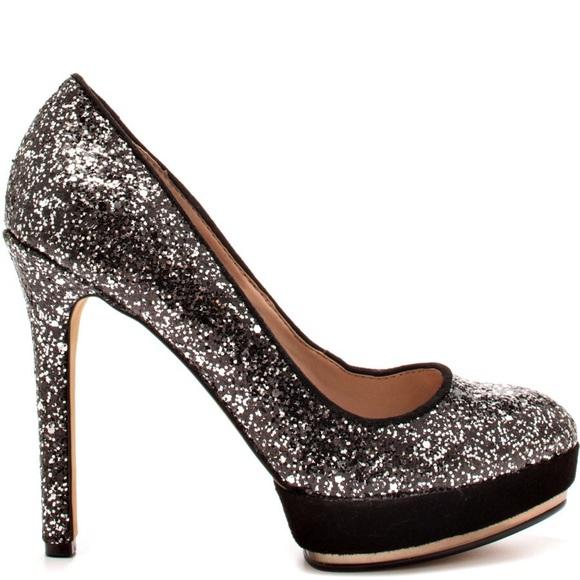 Nike Silver Glitter Shoes