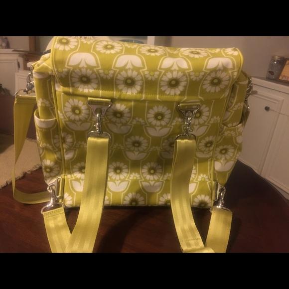 50 off petunia pickle bottom handbags petunia pickle bottom boxy backpack diaper bag from jen. Black Bedroom Furniture Sets. Home Design Ideas