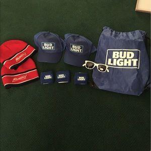 Bud Light gift bag