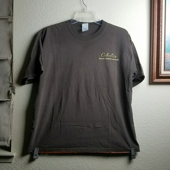 18 off cabelas other cabela 39 s go big or go home graphic for Cabela s fishing shirts