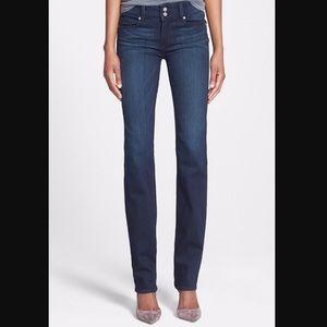 Paige Jeans Hidden Hills Straight leg Denim.