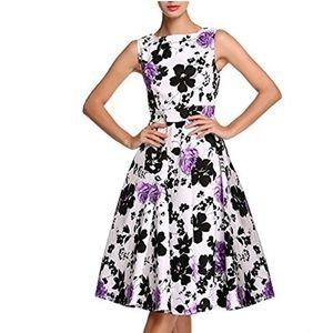 Acevog Dresses & Skirts - Audrey Hepburn 50's Vintage Rockabilly Swing Dress