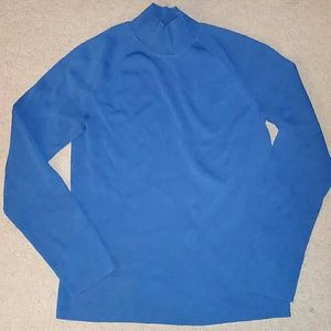 Talbots Sweaters - Talbots Petites size P blue long sleeve sweater