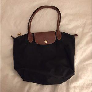 Longchamp Handbags - Black Longchamp Tote