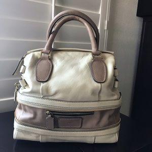 Chloe Handbags - Chloe Expandable Ivory Lambskin Leather Handbag