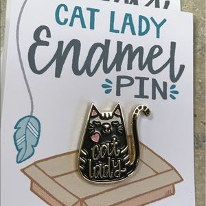 Jewelry - Adorable Cat Lady Pin 🐱💖