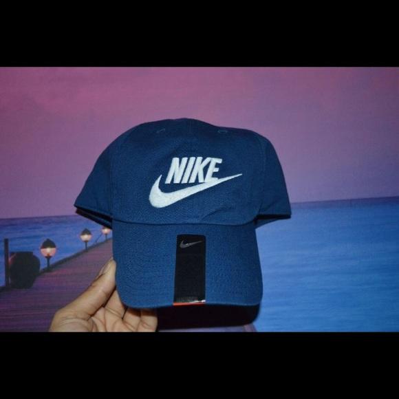 wholesale dealer 3802f 8fc01 Nike Futura Washed Heritage 86 Coastal Blue Caps