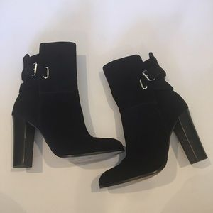 Dolce Vita Shoes - Dolce Vita Heeled Maren Suede Ankle Boots Size 9.5