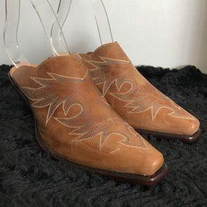 """Angel Ranch Shoes - Angel Ranch Western Mules Slides Size 7.5"""""""